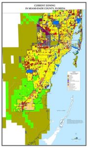 Miami-Dade County, Florida Zoning Map